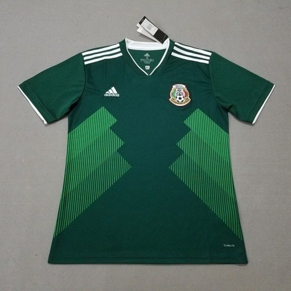 ed8db697db8 adidas Mexico Home Jersey Camiseta 2018 World Cup